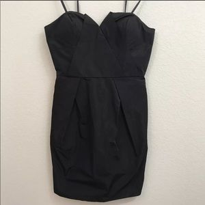 BCBG Black short cocktail dress